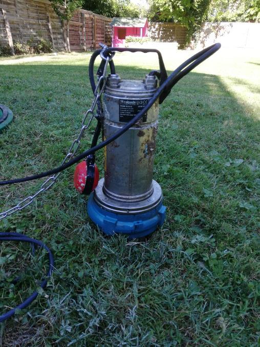 Réparation pompe relevage